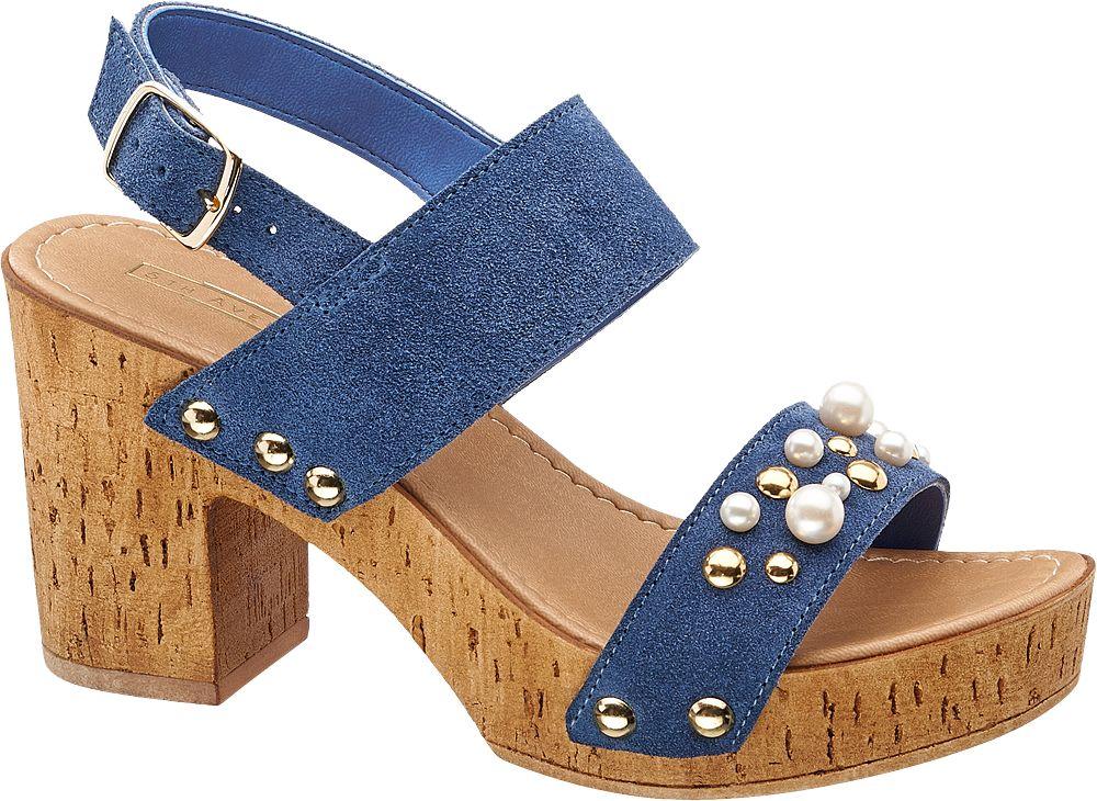 5th Avenue Sandály  modrá