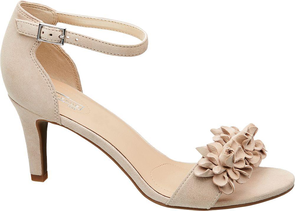5th Avenue Semišové sandály  béžová