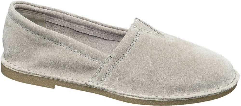 5th Avenue - Semišová slip-on obuv