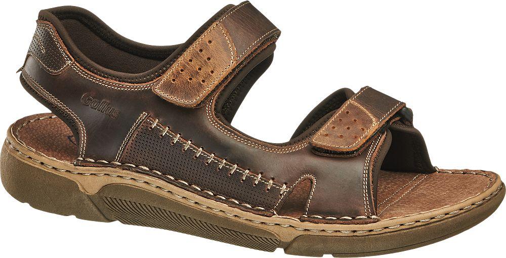 dbdf537569160 sandały męskie Gallus brązowe Sandały - {Shoperia} Gallus
