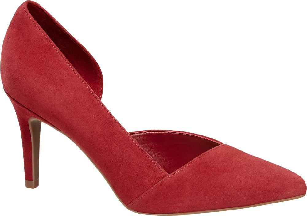 Szpilki damskie 5th Avenue czerwone