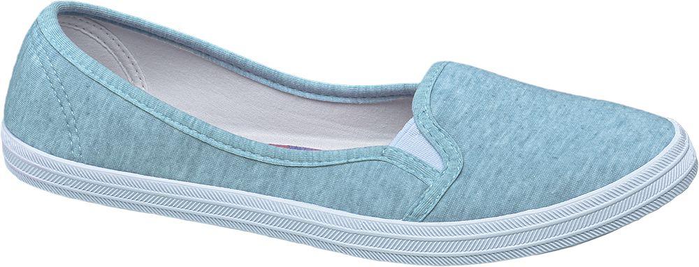 Casa mia Slip-on obuv  modrá