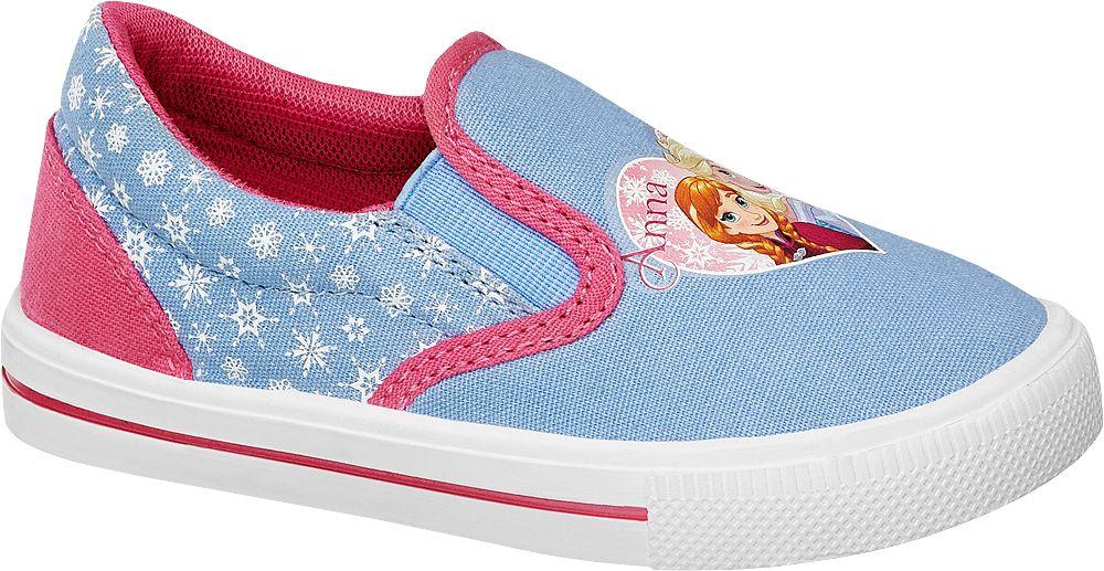 Deichmann - Disney Frozen Slip-on obuv 29 modrá