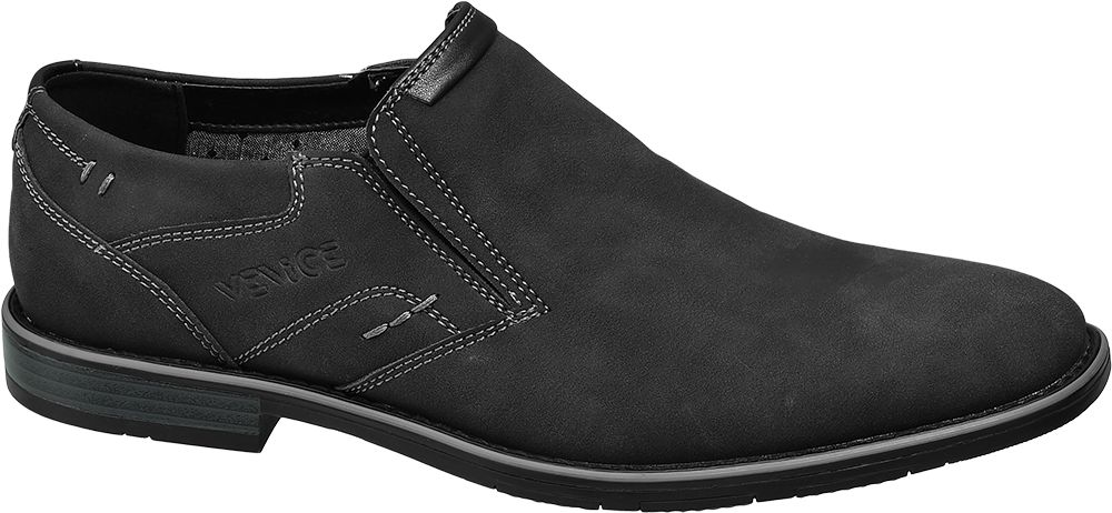Venice Slip-on obuv  černá