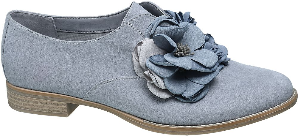 Graceland Slip-on polobotky  modrá