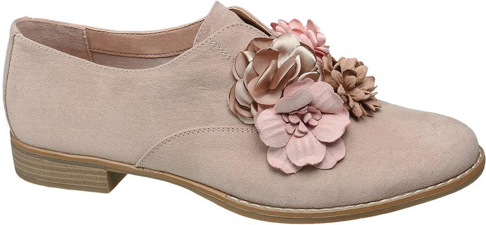 Graceland Slip-on polobotky  růžová