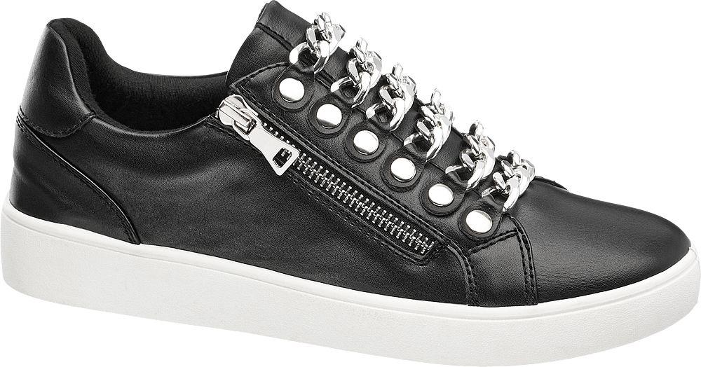 Graceland Slip-on tenisky  černá