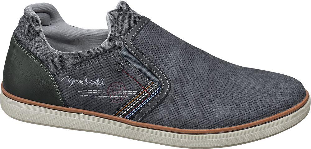 Venice Slip-on vycházková obuv  šedá