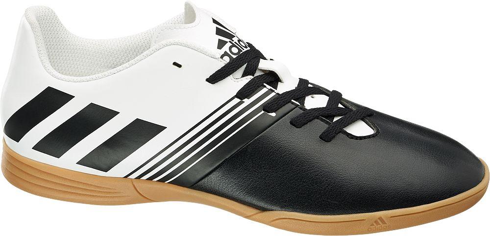 Deichmann - adidas Performance Sálová obuv Dazilao IN 11.5 černobílá