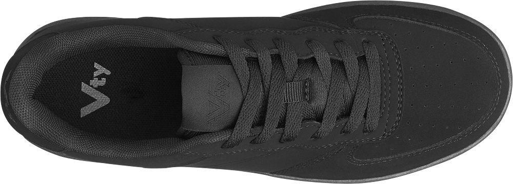 Der schwarze Sneaker von Victory ist kompakt und komfortabel geschnitten  und im Fersenbereich verstärkt – so c178e52c61