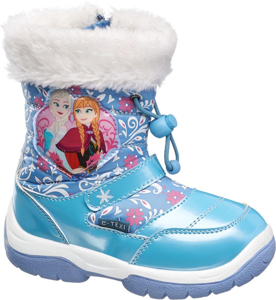 Deichmann - Disney Frozen Sněhule Ledové království 26 modrá