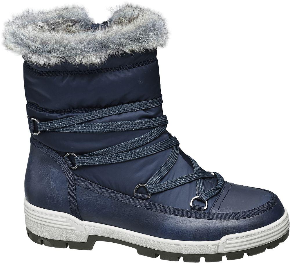 Deichmann - Cortina Sněhule s membránou TEX 40 modrá 20dd6692ab7
