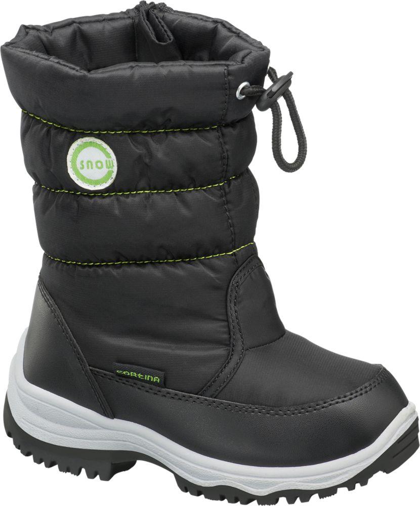 Deichmann - Cortina Sněhule 28 černá