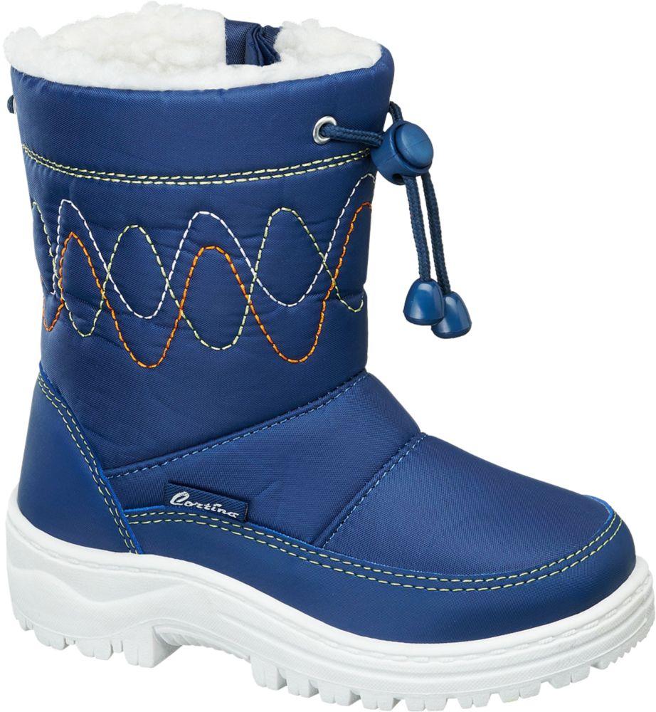 Deichmann - Cortina Sněhule 28 modrá