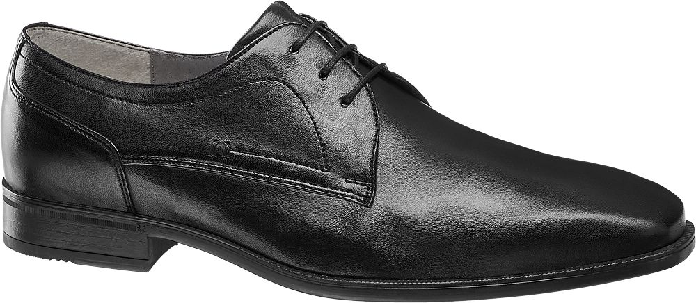 AM SHOE Společenská obuv  černá