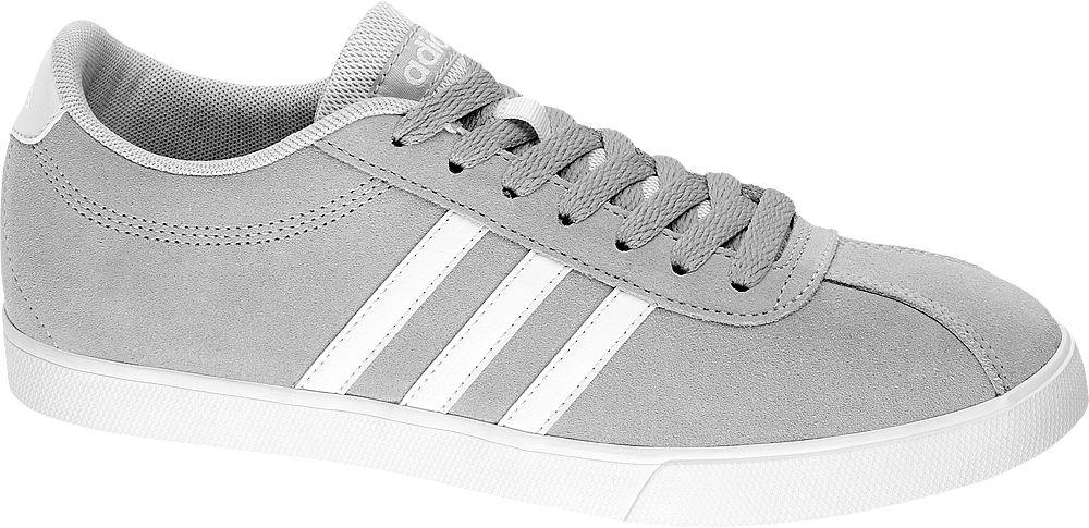 Deichmann - adidas Tenisky Courtset W 38 šedá