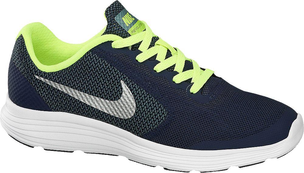 Deichmann - NIKE Tenisky Nike Revolution 3 (Gs) 37 modrá