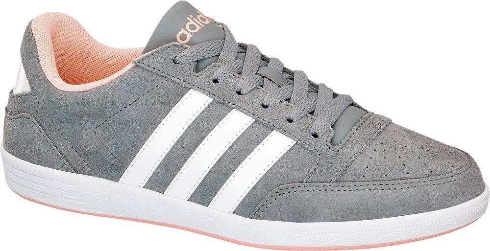 adidas Tenisky VL Hoops Low  šedá