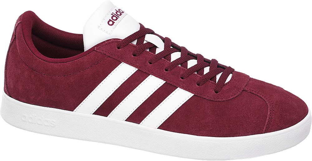 Deichmann - adidas Tenisky Vl Court 2.0 44 červená
