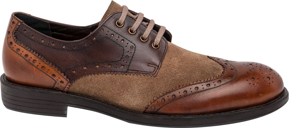 Harrington � Mens formal lace up Brogue