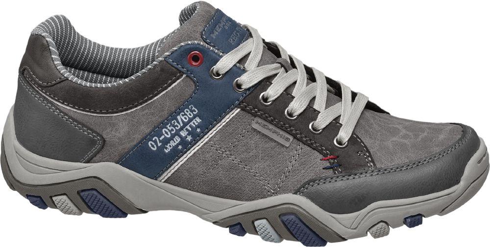 Deichmann - Memphis One Vycházková obuv 42 šedá