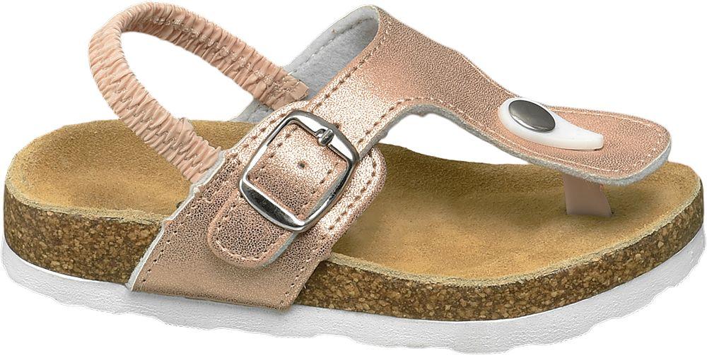 błyszczące sandałki dziewczęce Cupcake Couture