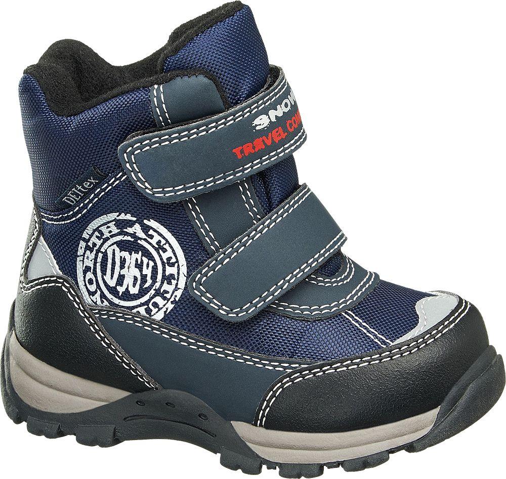 Deichmann - Cortina Zimní obuv na suchý zip 21 modrá