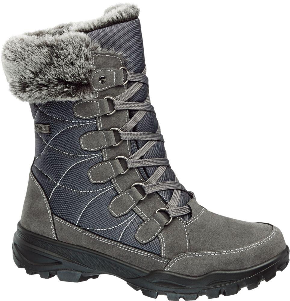 Deichmann - Cortina Zimní obuv s membránou TEX 37 šedá