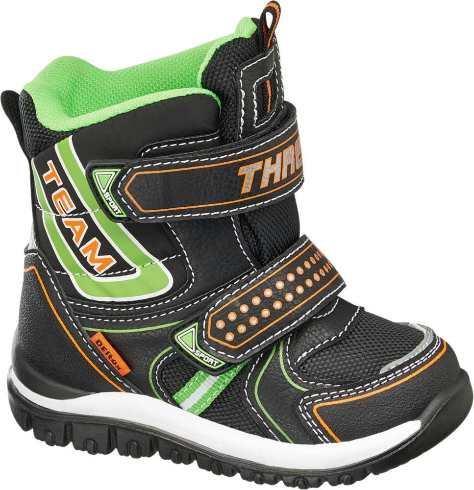 Deichmann - Cortina Zimní obuv s membránou TEX 22 zelená