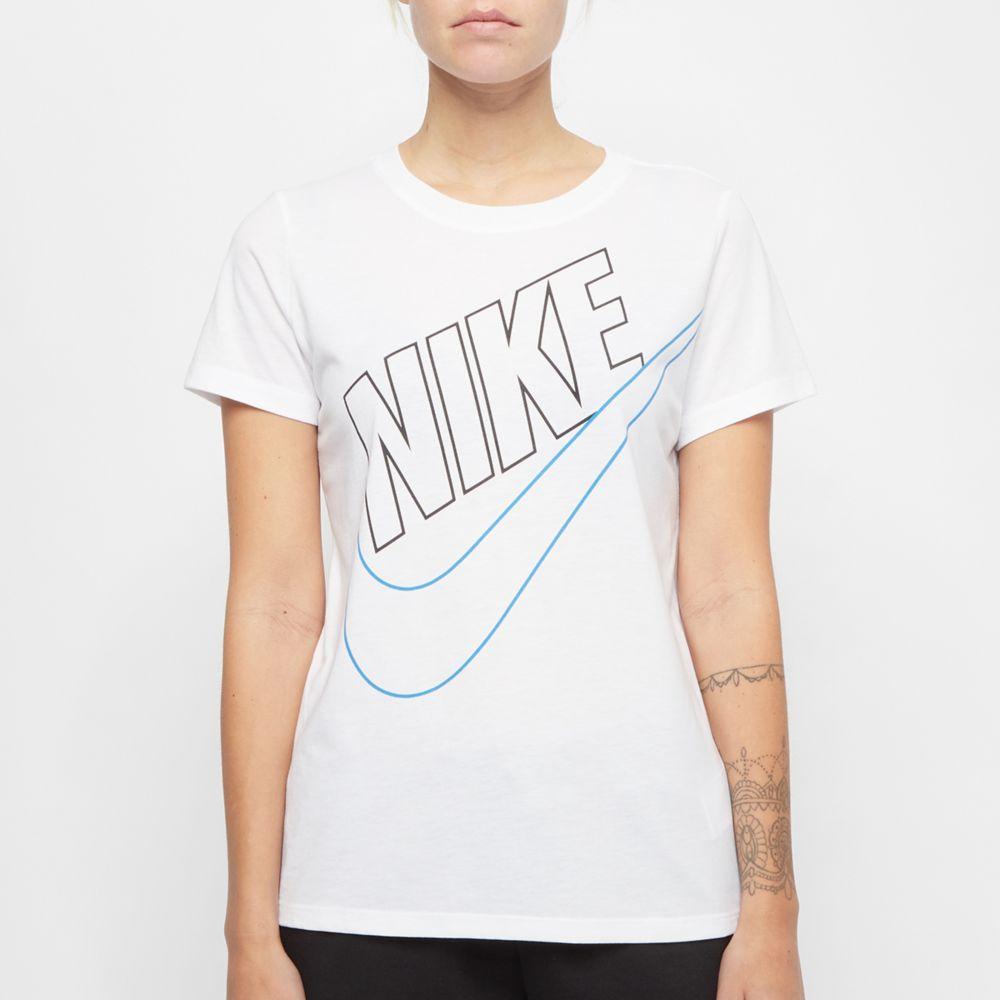 biała koszulka damska Nike