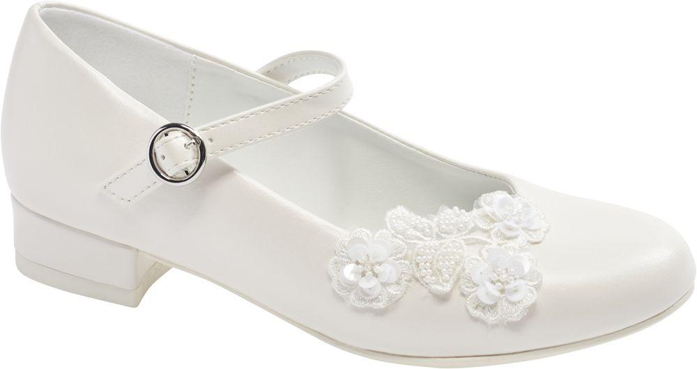 białe buty komunijne Graceland dla dziewczynki