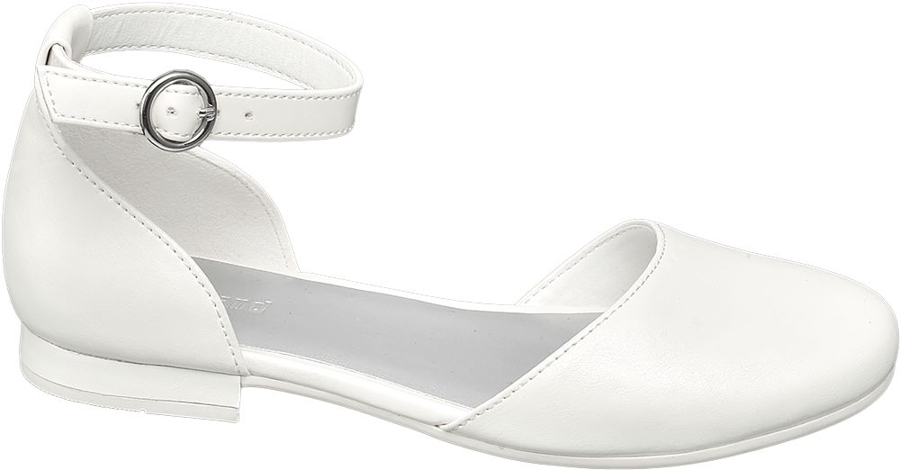 białe buty komunijne Graceland zapinane na paseczek