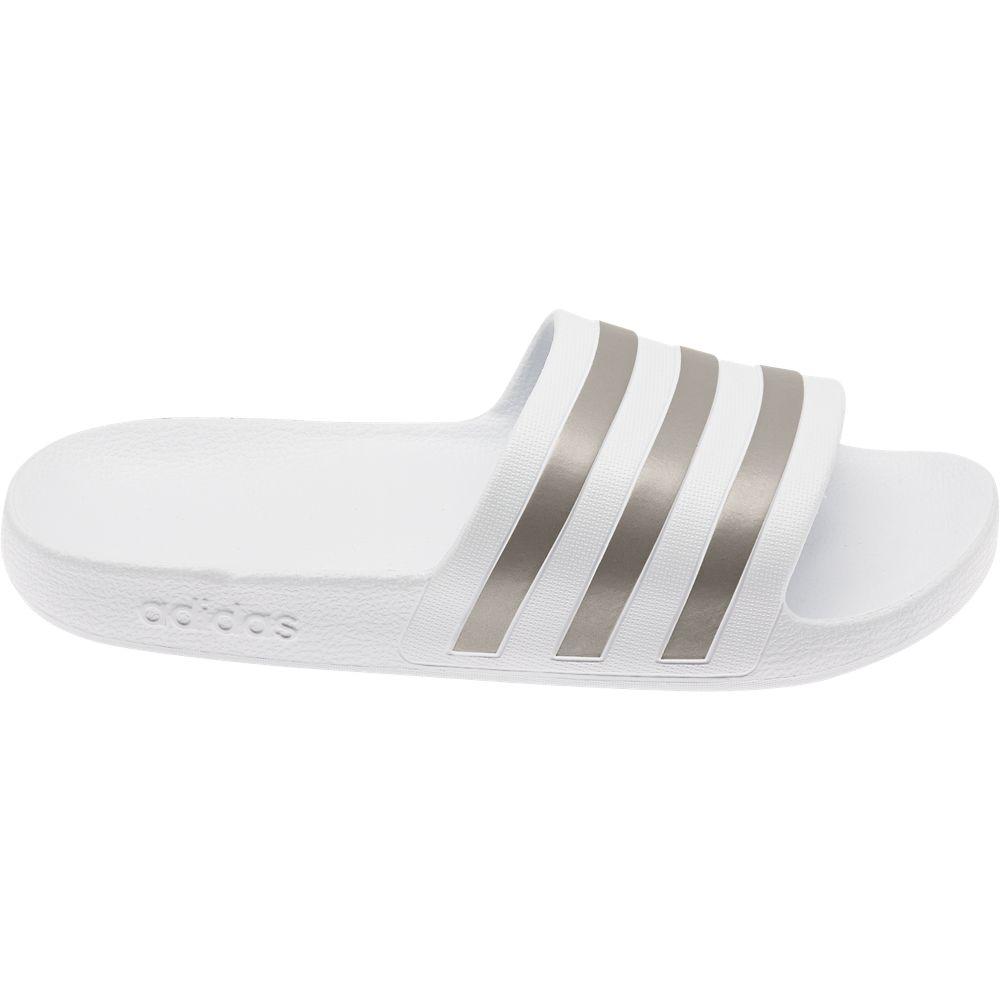 białe klapki damskie adidas Adilette Aqua