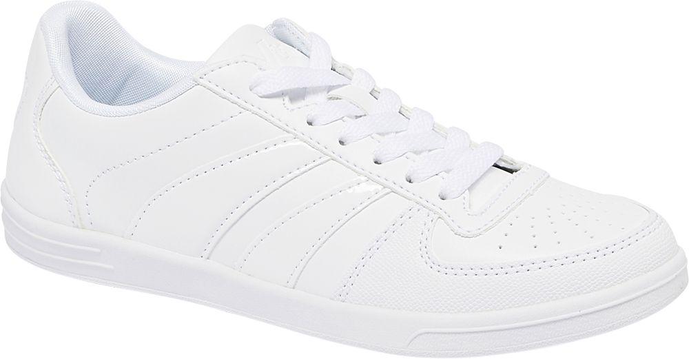 białe klasyczne sneakersy damskie Vty