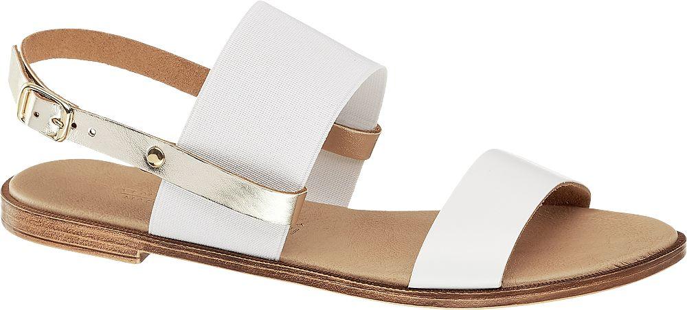 białe sanday damskie Claudia Ghizzani