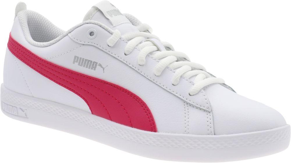 białe sneakersy Puma Smash JR