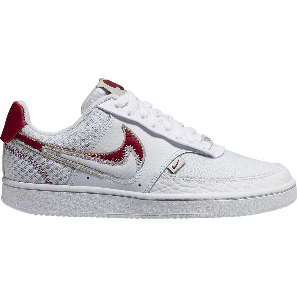 białe sneakersy damskie Nike Court Vision