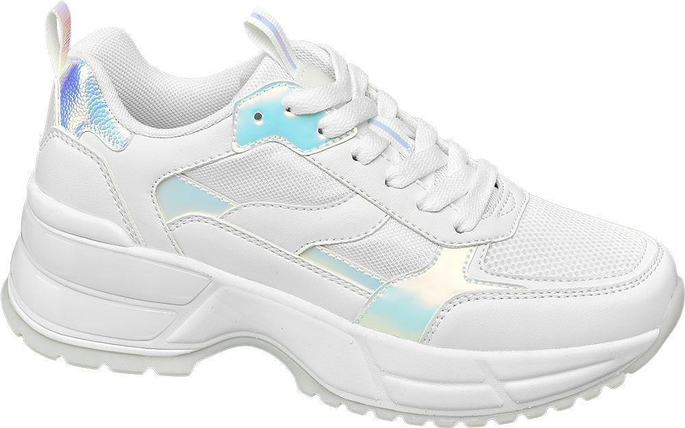 białe sneakersy damskie Star Collection