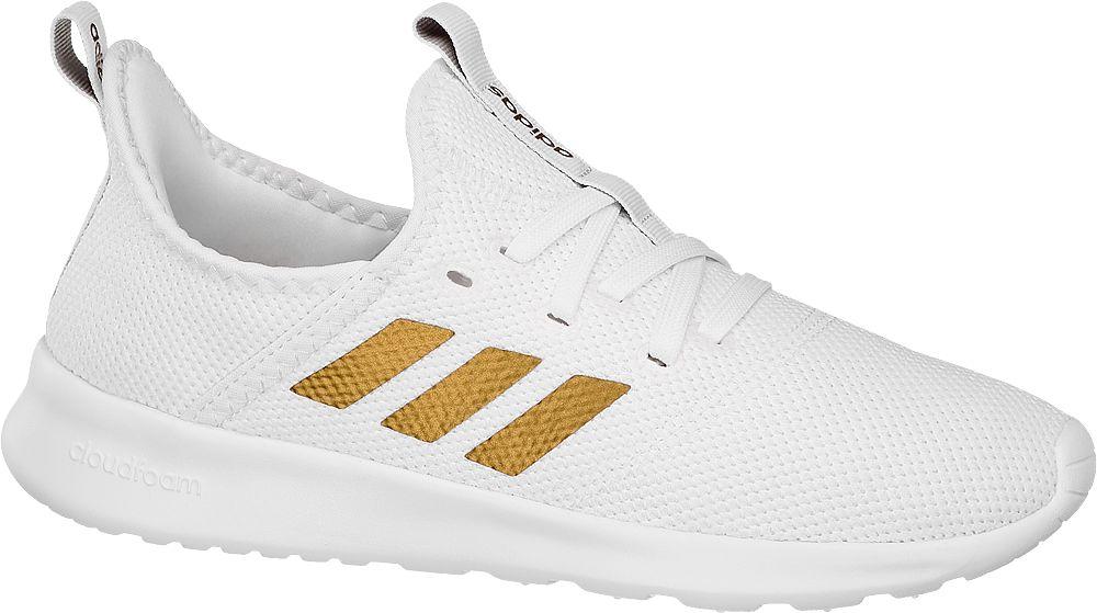 białe sneakersy damskie adidas CLOUDFOAM PURE