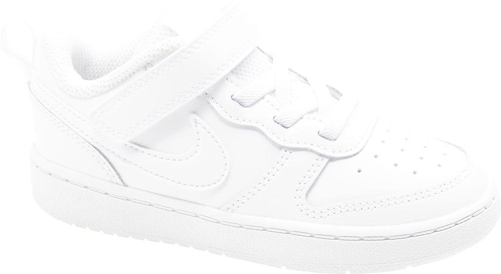 białe sneakersy dziecięce Nike Court Borough Low