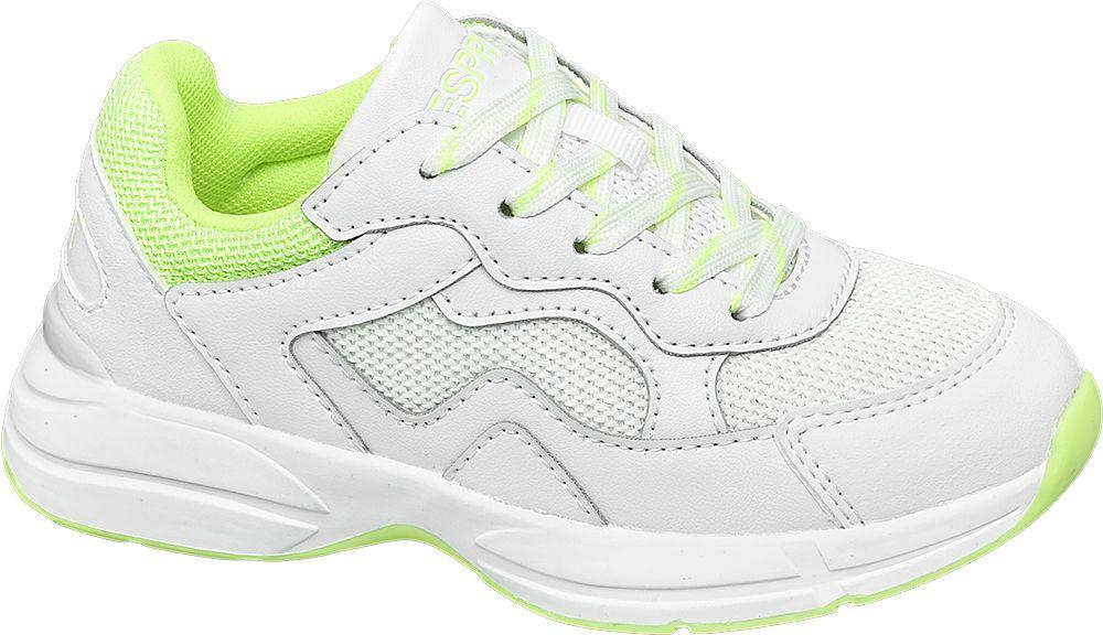 białe sneakersy dziewczęce Esprit