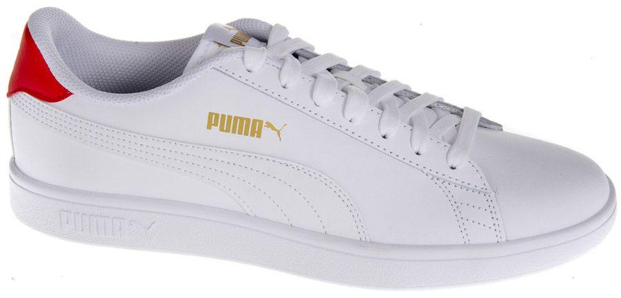 białe sneakersy męskie Puma Smash 2