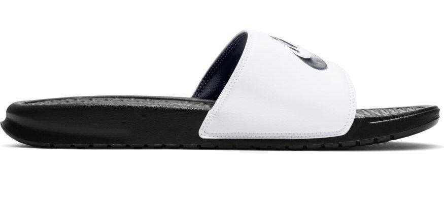 biało-czarne klapki męskie Nike Benassi