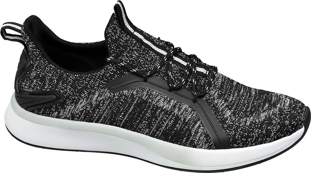 biało-czarne sneakersy damskie Vty