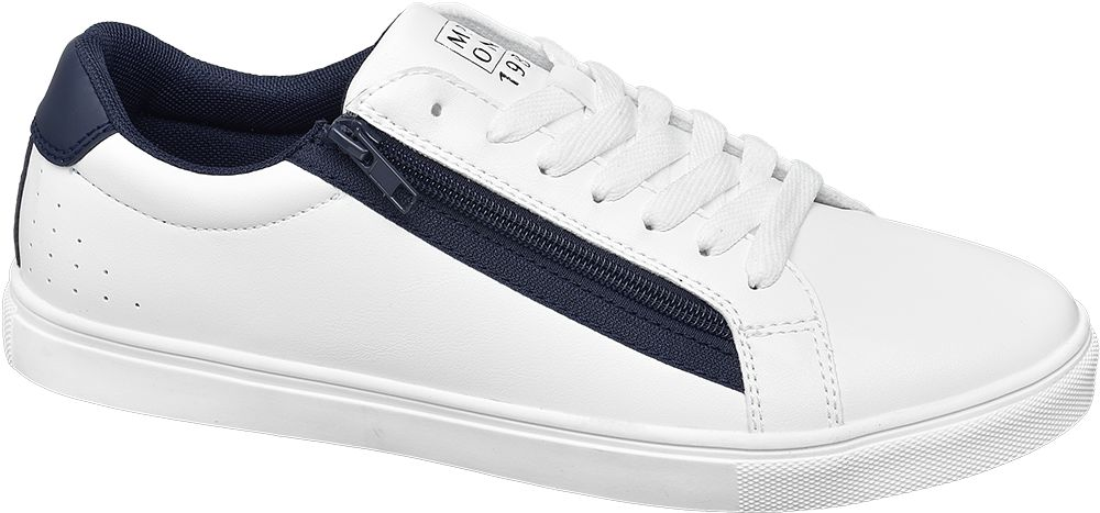 biało-granatowe sneakersy męskie Memphis One