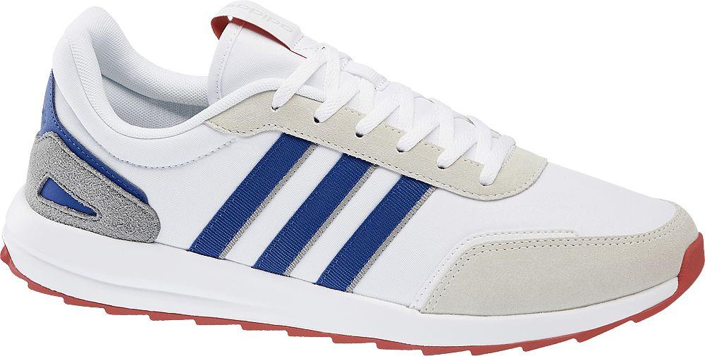 biało-niebieskie sneakersy męskie adidas Retro Run X