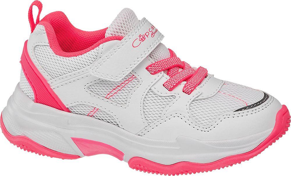 biało-różowe sneakersy dziewczęce Cupcake Couture