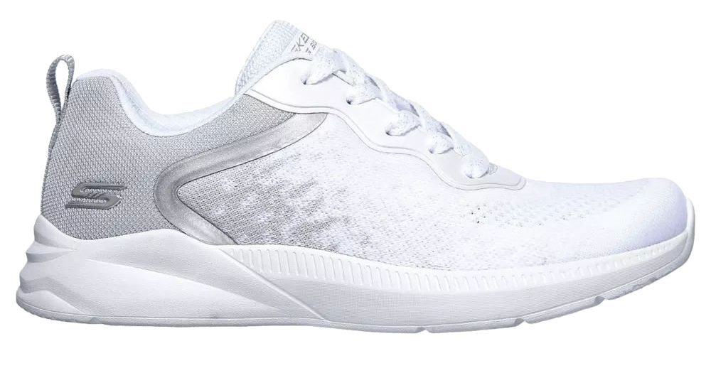 biało-srebne sneakersy damskie Skechers Ariana