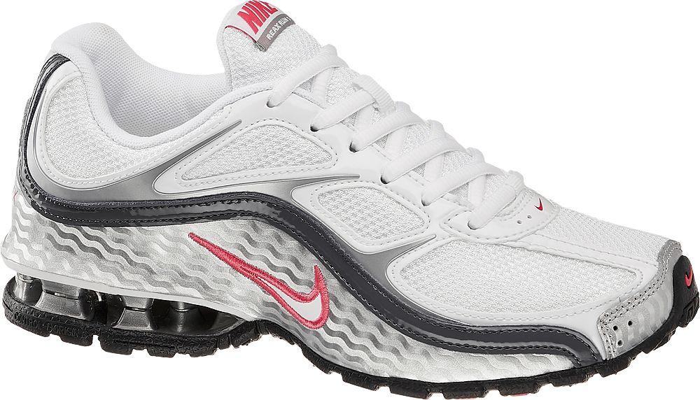 biało-szare buty damskie do biegania Nike Reax 8