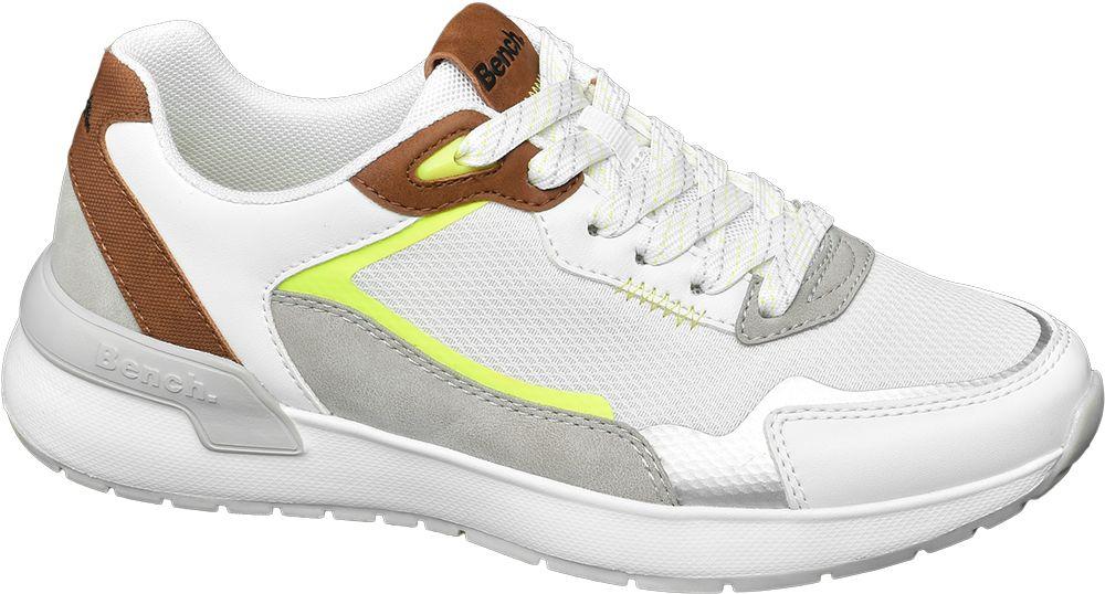 biało-szare sneakersy damskie Bench